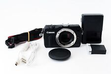 Excellent Canon EOS M 18.0 MP Digital Camera - Black ( body only ) From JAPAN