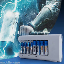 sale!  8 Slots Charger for AA / AAA NiCd NiMh Batteries - EU Plug