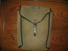 unknown military surplus large pouch canvas bag army