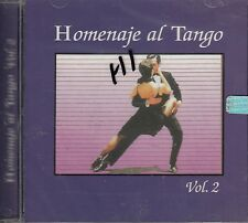 Agustin Irusta Oscar Larroca Paulino Homenaje Al Tango Vol 2 CD New Sealed