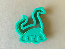 "Long Neck Dinosaur Shaped Durable Plastic Cookie Cutter~3 3/4"" X 3"" X 3/4"", NEW!"