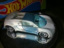 Hot Wheels BUGATTI VEYRON '07 Mystery Series Import Luxury Mint LOOSE Ice White