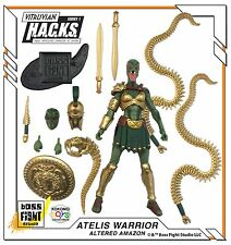 Boss Fight Vitruvian HACKS - Kokomo Toys Exclusive ATELIS WARRIOR ALTERED AMAZON