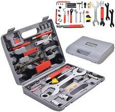 44 PC Multi-Function Bike Bicycle Home Mechanic Tool Repair Kit Set Box Cycling