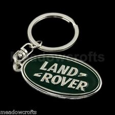 Boxed Land Rover Key Ring  NEW  - Freelander Discovery Chain Range Sport Keyring