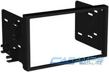 NEW DOUBLE 2 DIN CAR STEREO DASH INSTALL MOUNTING KIT INSTALLATION MOUNT TRIM