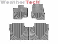 WeatherTech All-Weather Floor Mats for Ford F-150 Crew Cab - 2015-2016 - Grey