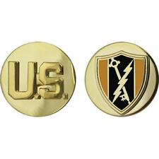 USA Army Enlisted Branch of Service Collar Device Electronic Warfare  (1 Pair)