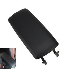 Black Armrest Arm Rest Center Console Lid Cover For 00-2006 Audi A4 A6 S4 New