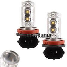 2Pcs H11 50W 10-LED Super White Fog Tail Driving Head Car Light Lamp Bulb Sale
