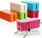 Cable Storage Box Wire Management Socket Safety Tidy Organizer Solution S-M Hot