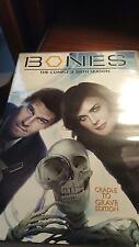 BONES: the complete Sixth Season cradle to grave edition 6 disc set DVD