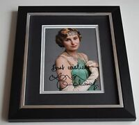 Laura Carmichael SIGNED 10X8 FRAMED Photo Autograph Downton Abbey TV AFTAL & COA
