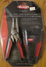 "BERKLEY (TEC) 6"" BENT NOSE POWER PLIERS 420 STAINLESS TREATED"