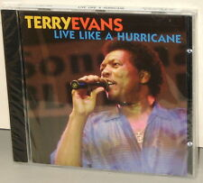 AudioQuest CD AQM 1058: Terry Evans - Live Like A Hurricane - 2003 USA SEALED