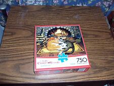 Buffalo The Cats of Charles Wysocki All Burned Out 750 Piece Puzzle ( NEW)