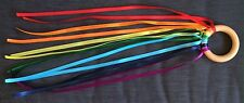Stocking Filler Ideas Christmas Present dance ribbons rainbow rings sensory Baby