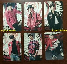 LOT of 6 BAP B.A.P Official Photocard 4th Album Matrix Photo Card Full Set 비에이피