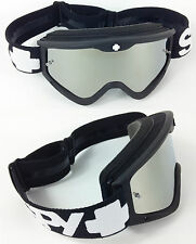 SPY OPTICS TARGA 3 MOTOCROSS MX GOGGLES BLACK SABBATH with SILVER MIRROR LENS