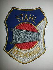 Aufnäher DDR 80er Emblem Stahl Reichenhain VFL Chemnitz DDR Patch Fussball CFC