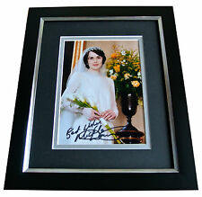 MICHELLE DOCKERY SIGNED 10x8 FRAMED Photo Autograph Display DOWNTON ABBEY & COA