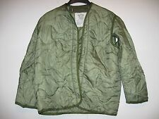 US ARMY COLD WEATHER COAT M-65 M65 FIELD JACKET LINER X-SMALL NEW CONDITION 1983