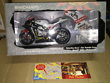 1:12 MINICHAMPS YAMAHA 2007 PHILIP ISLAND V.ROSSI SEALED FREE SHIPPING WORLDWIDE