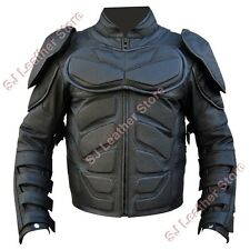 Batman Dark knight Rises Genuine Leather Motorcycle Jacket Top Quality Cowhide