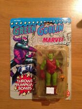Marvel Super Heroes Green Goblin Throws Pumpkin Bombs Action Figure,MOC Sealed