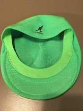 Kangol Men's 504 Tropic Breathable Cap SZ Medium Lime Green Poly/Chlorofibre