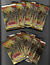 Lot of 10 YUGIOH CYBERDARK IMPACT Booster Packs 1st Edition FREE SHIP to US & CN