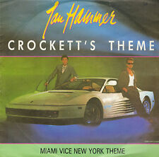 "7"" Jan Hammer Crockett`s Theme,NEAR MINT, MCA Records ‎– 258 360-7 von 1986"