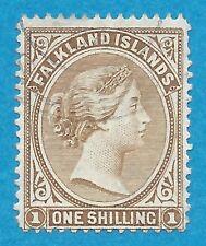 Falkland Islands  18a  Used Victoria