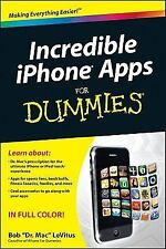 Incredible iPhone Apps For Dummies in Full Glossy Colors Advice on best apps for