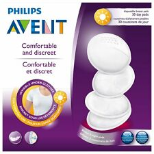Avent - 30 Pack Disposable Day Breast Pads - Brand New - Baby