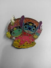 Disney Pin HKDL Stitch and Scrump As Penquin Ice Cream ( Banana Split PTD)