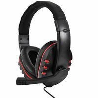 DELUXE WIRED GAMING HEADSET FOR PLAY STATION 4 PS4