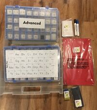 PHONICS WORKS K12  TILES  BASIC AND ADVANCED KIT IN PLASTIC CASE NICE