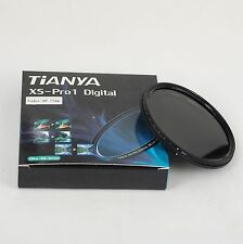 TianYa 77 77mm Fader ND Filter ( adjustable ND2 ND4 ND8 ND16 to ND400 ) 77-86mm