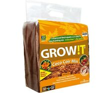 All NEW !! GROW!T Organic Coco Coir Mix, Block SAVE $$ W/ BAY HYDRO