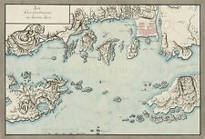 MAP 18TH CENTURY UNKNOWN KRISTIANSAND NORWAY LARGE REPLICA POSTER PRINT PAM0391