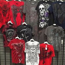 Wholesale Mens Clothing Tshirts Closeout Skulls Type 50pcs Lot $3.98 per Tshirt
