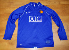 Nike Manchester United 2008/2009 away long-sleeved shirt (Size XLB/S)