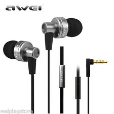 3.5mm Headphone In-ear Super Bass Stereo Earphone Awei Headset Earbuds With Mic