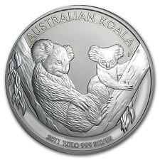 2011 1 Kilo Australian Silver Koala Coin - Brilliant Uncirculated - SKU #59033