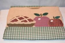 "Casserole Caddy/Carrier Potluck, APPLE PIE Print, Handles dishes up to 11"" x 13"""