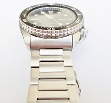 TAURUS 22mm Solid Oyster Watch Bracelet Curved Ends Fits SEIKO 6309 7002 SKX007
