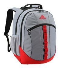 "Adidas Stratton 2563 Cu"" XXL Extra Large Capacity Backpack Scarlet Gray WARRANTY"