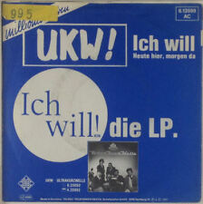 "7"" Single - UKW! - Ich Will! - s588 - washed & cleaned"
