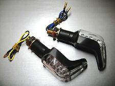 ►4X HARLEY XL V-2 Evolution,Dyna Fat BoB,V-Rod VRSC,SXT125 LED BLINKER SHARK N